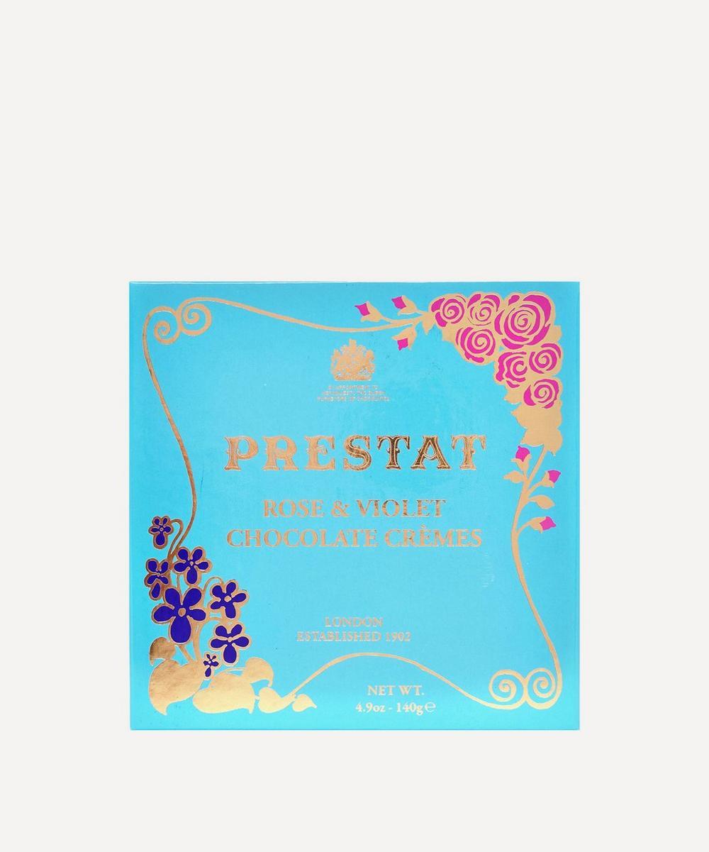 Prestat - Rose & Violet Chocolate Crèmes 135g