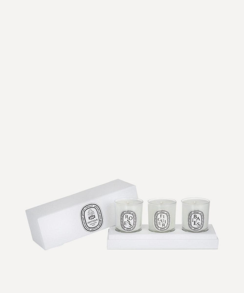 Classic Set of Three Mini Candles