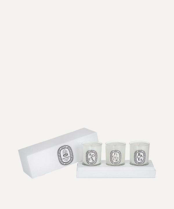 Diptyque - Classic Set of Three Mini Candles