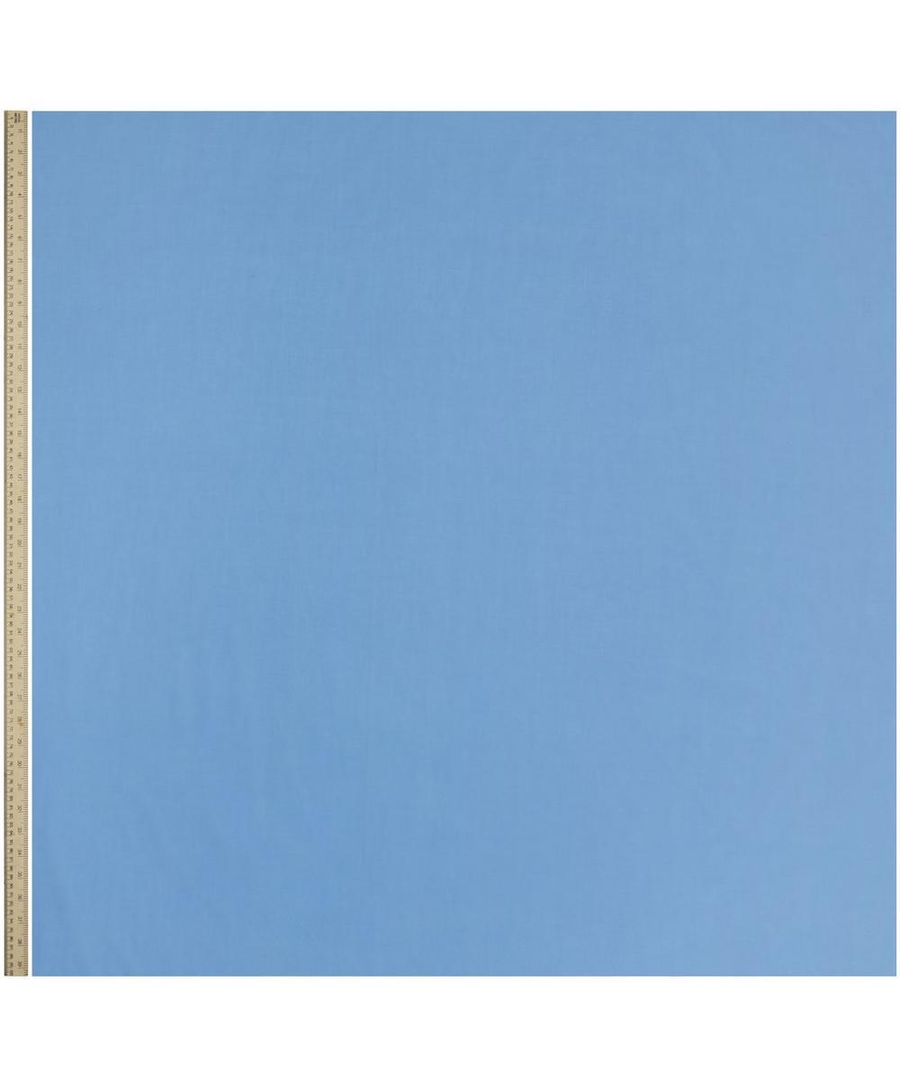 Chambray Blue Plain Tana Lawn Cotton