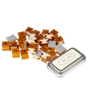 Alphabet Rubber Stamp Set