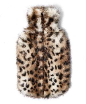 Ocelot Faux Fur Hot Water Bottle