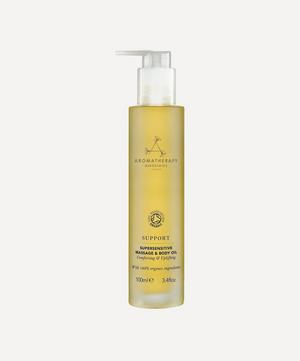 Support Supersensitive Massage and Body Oil 100ml