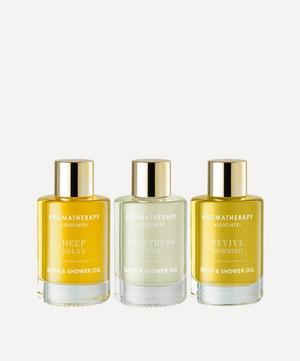 Essential Bath and Shower Oils Set of Three