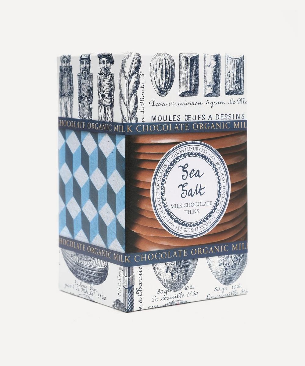 Organic Sea Salt Milk Chocolate Wafers 150g