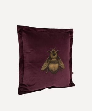 Napoleon Bee Velvet Cushion