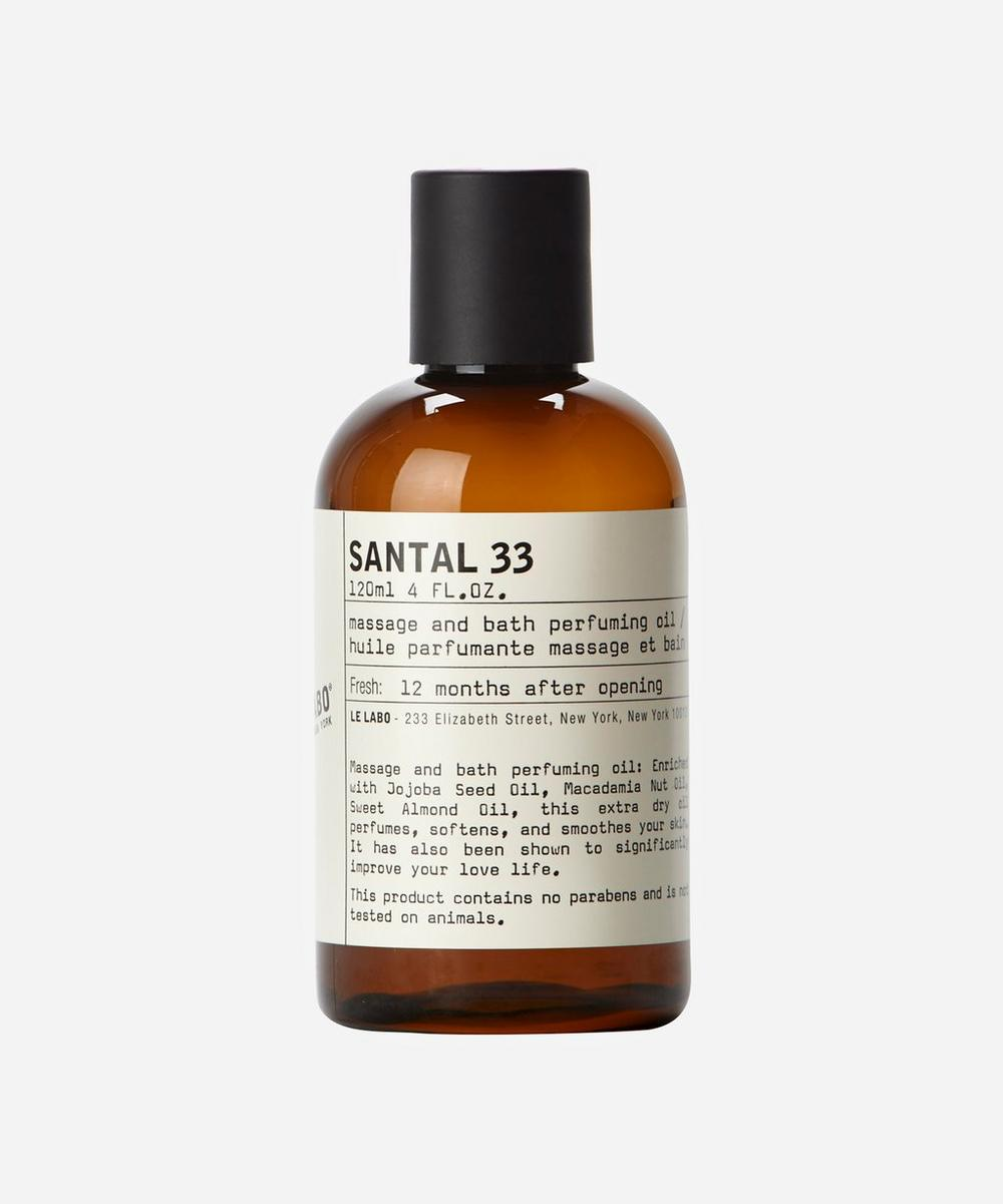 Le Labo - Santal 33 Bath and Body Oil 120ml