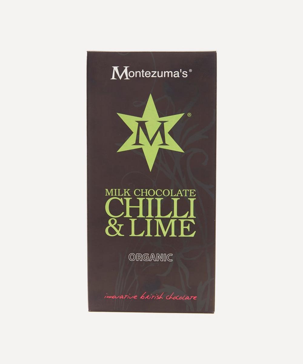 Chilli And Lime Chocolate Bar 100G