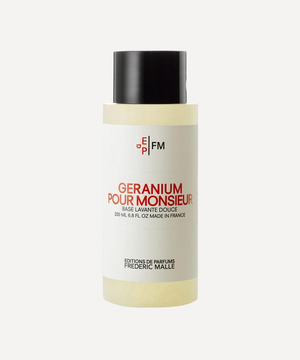 Geranium Pour Monsieur Shower Gel