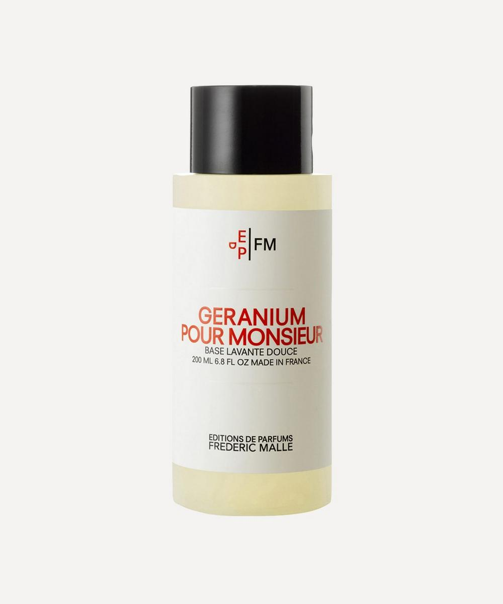 Geranium Pour Monsieur Shower Gel