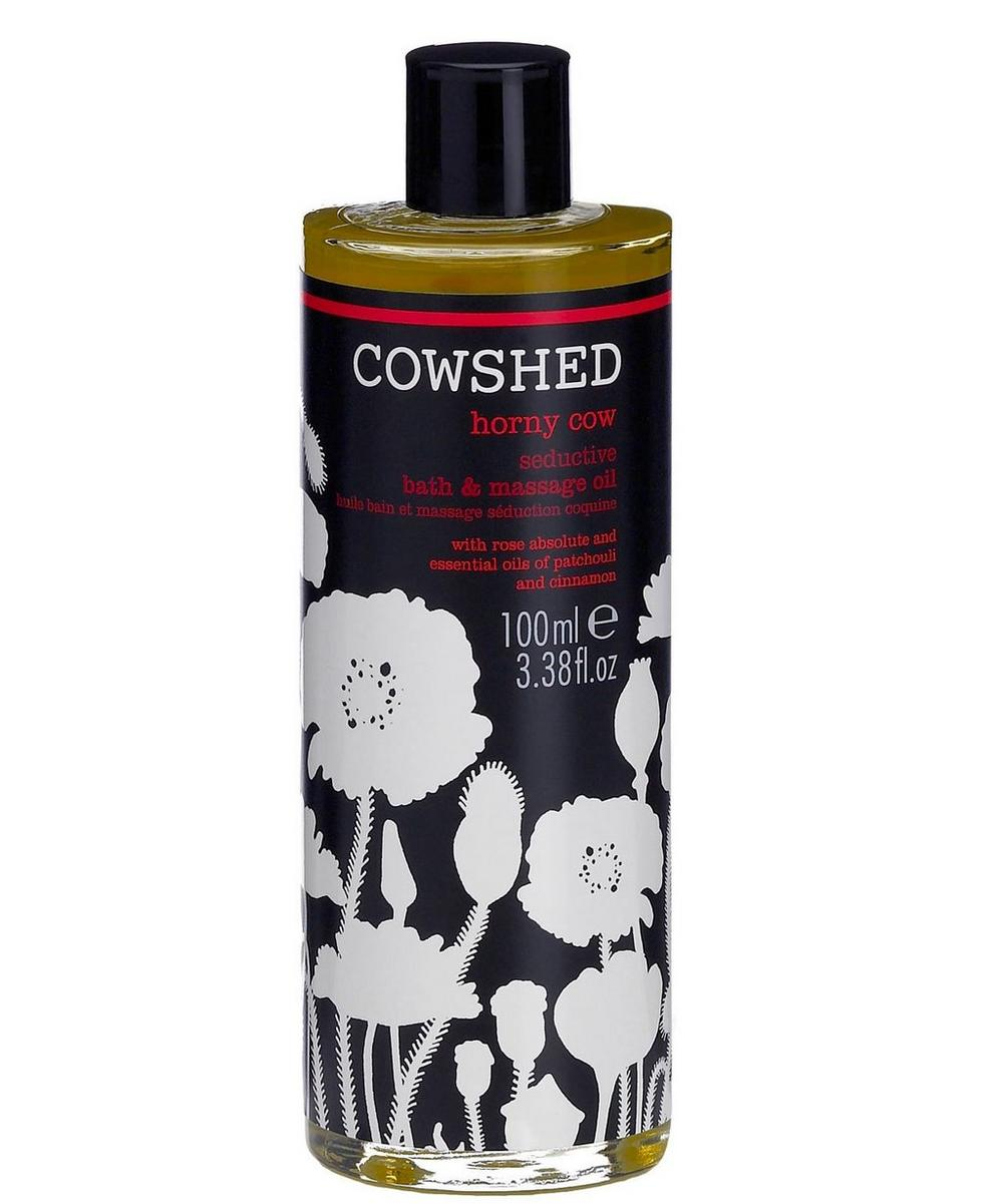 Horny Cow Seductive Bath and Body Oil 100ml