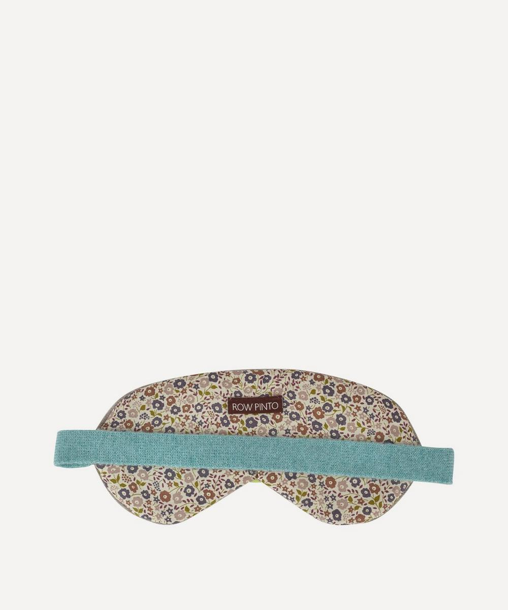 Liberty Print Cashmere Eye Mask