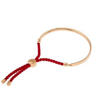 Rose Gold Vermeil Fiji Cord Bracelet