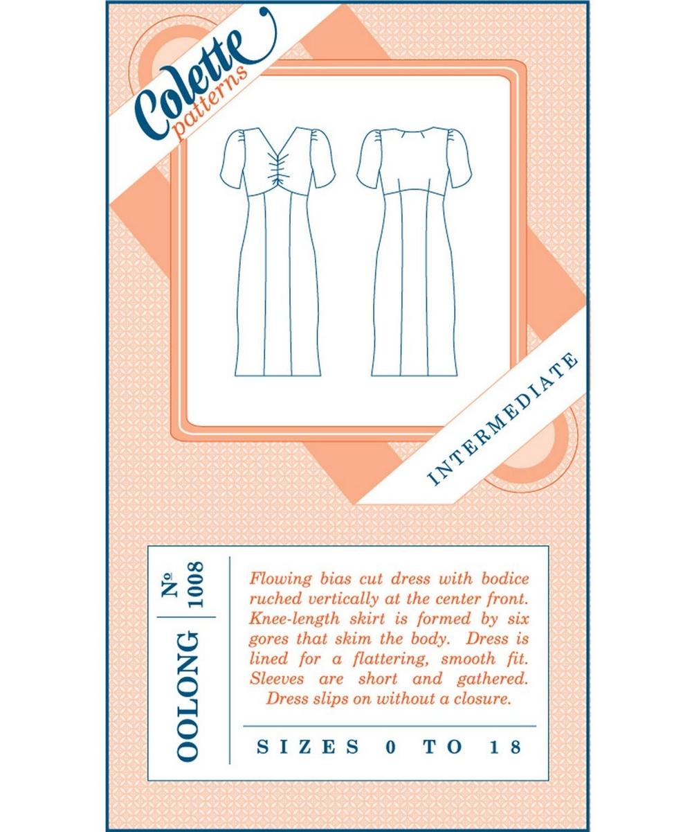 Oolong Sewing Dress Pattern | Liberty London