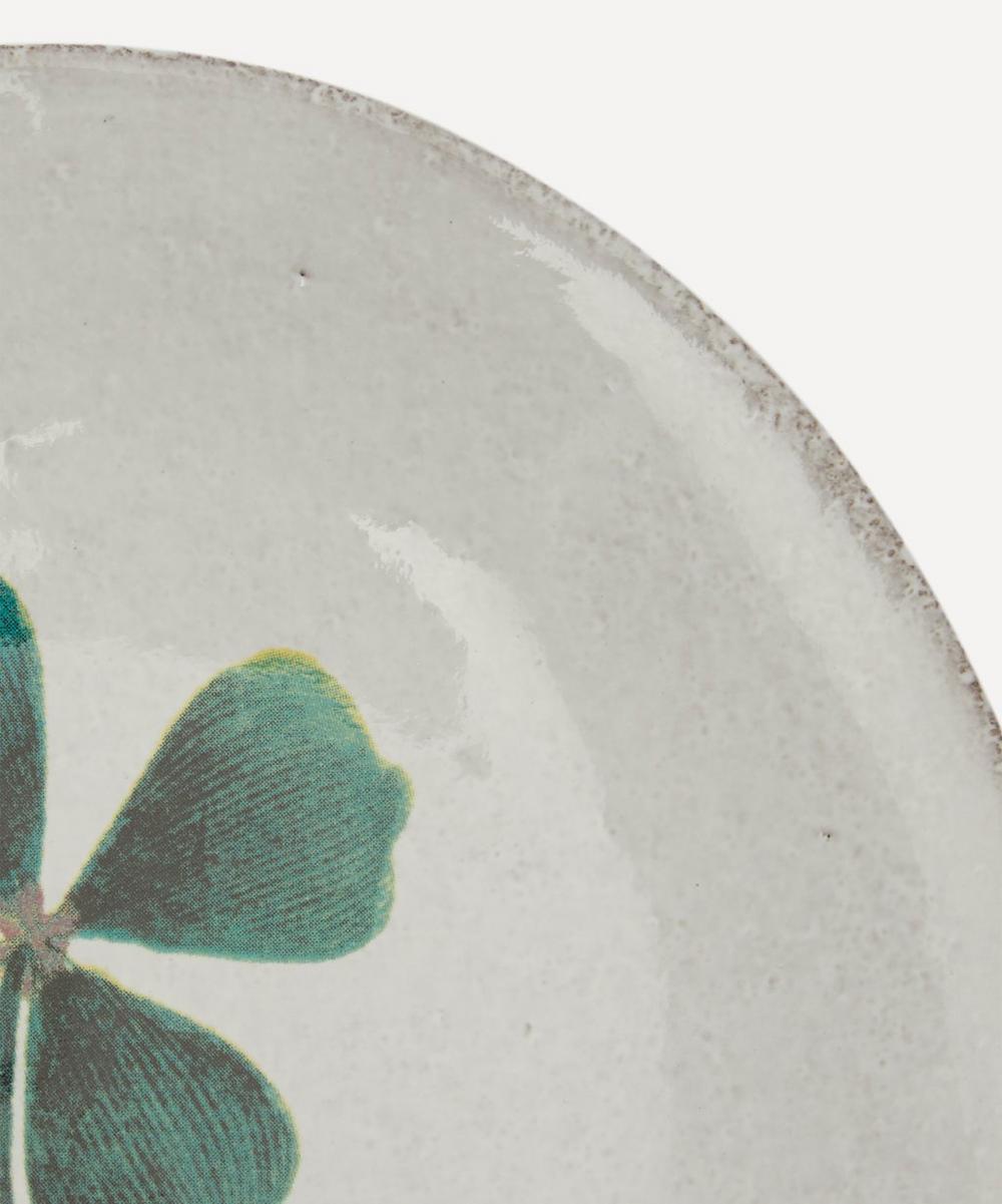 Four-Leaf Clover Saucer