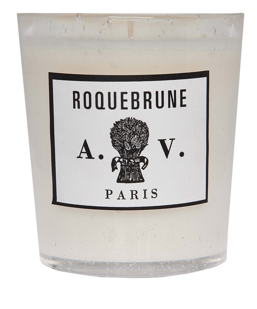 Roquebrune Glass Scented Candle 260g