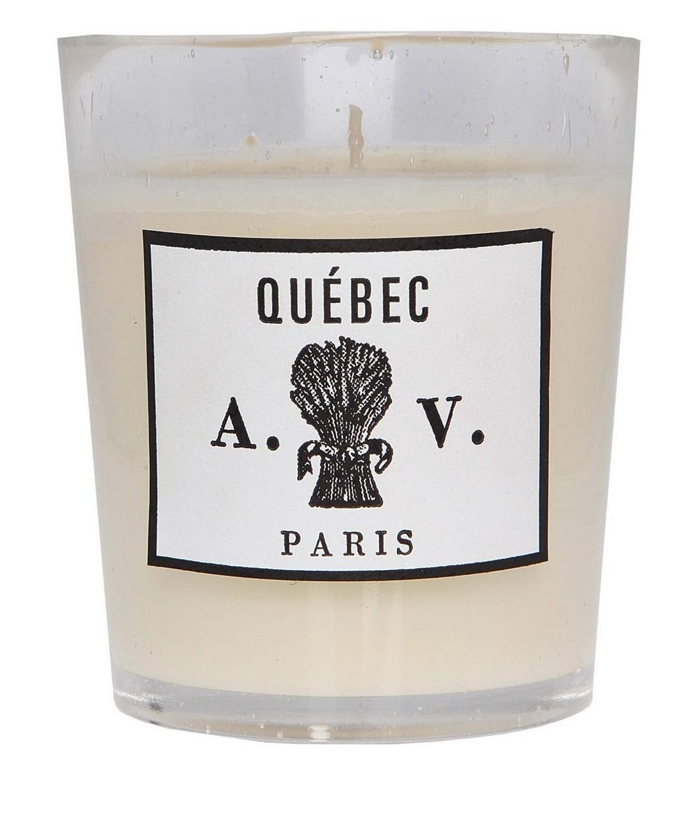 Québec Glass Scented Candle 260g