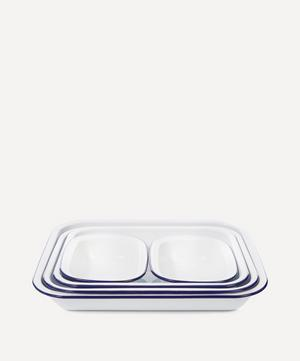 Enamel Baking Dishes Set of Five
