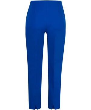 Audrey Stretch Cotton Cropped Trousers