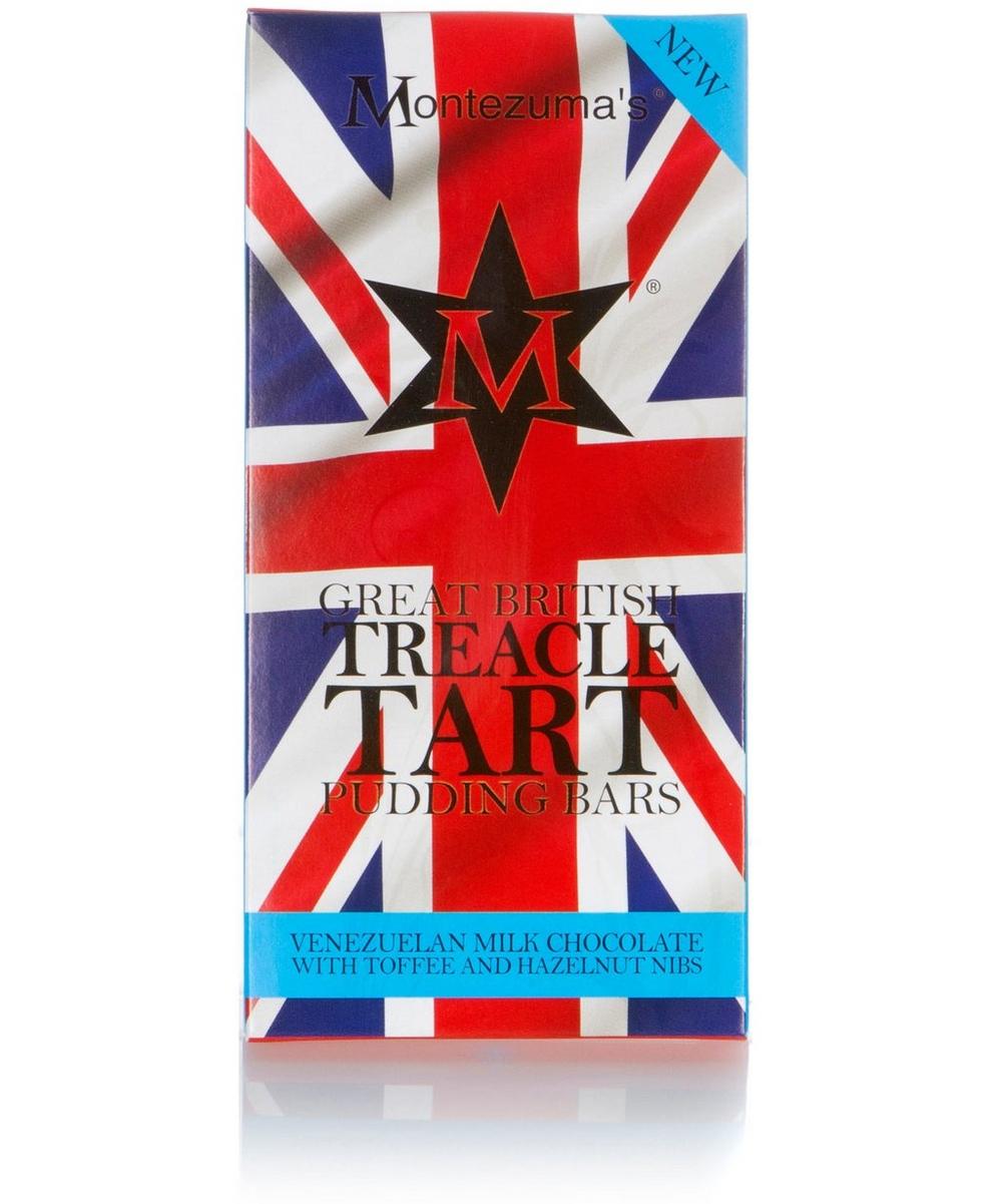 Treacle Tart Great British Pudding Bar 100g