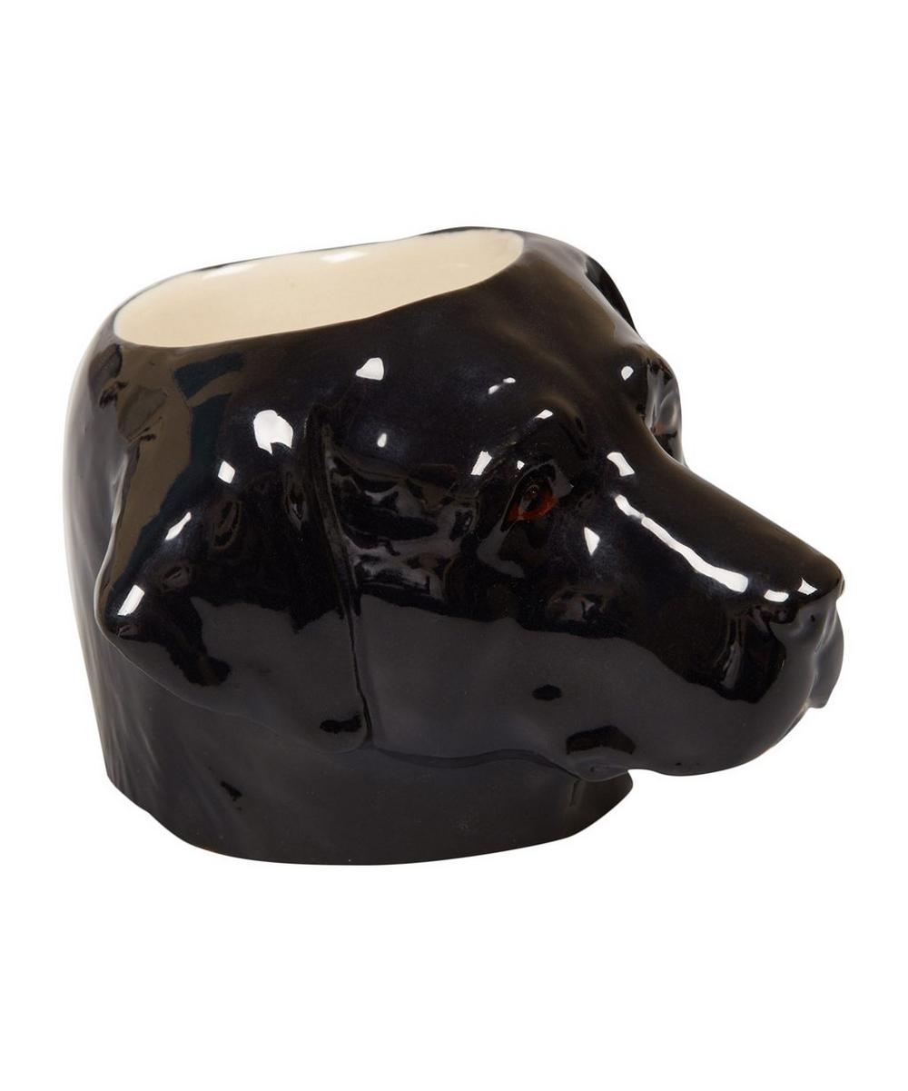 Black Labrador Egg Cup