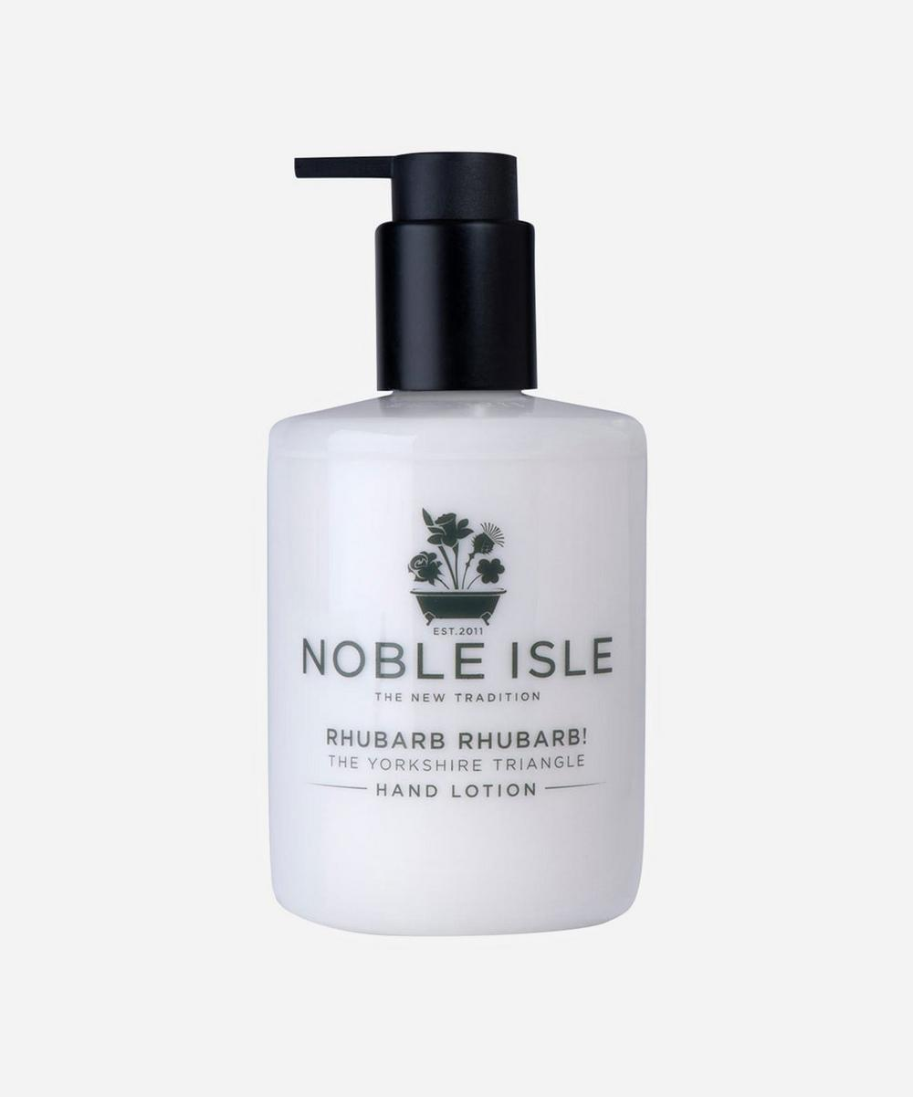 Rhubarb Rhubarb! The Yorkshire Triangle Hand Lotion 250ml