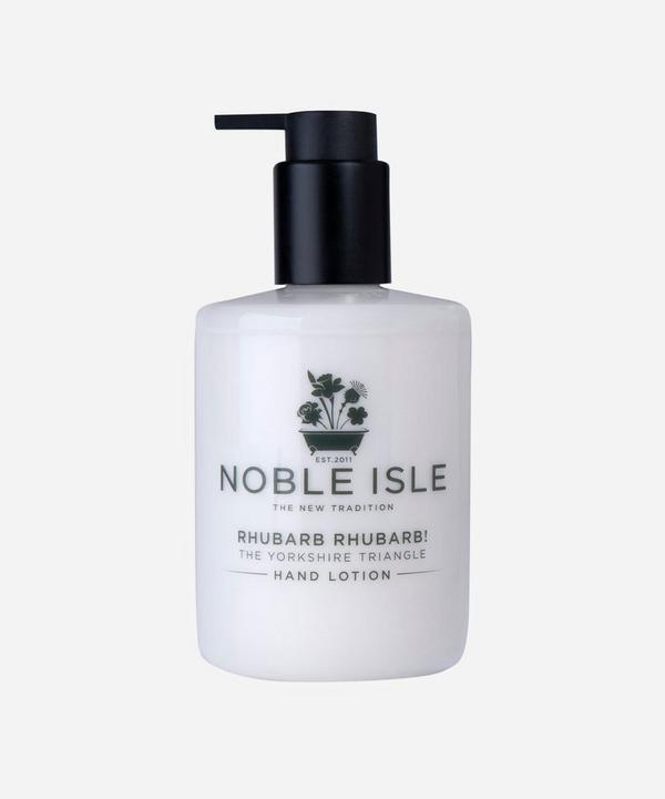 Noble Isle - Rhubarb Rhubarb! The Yorkshire Triangle Hand Lotion 250ml