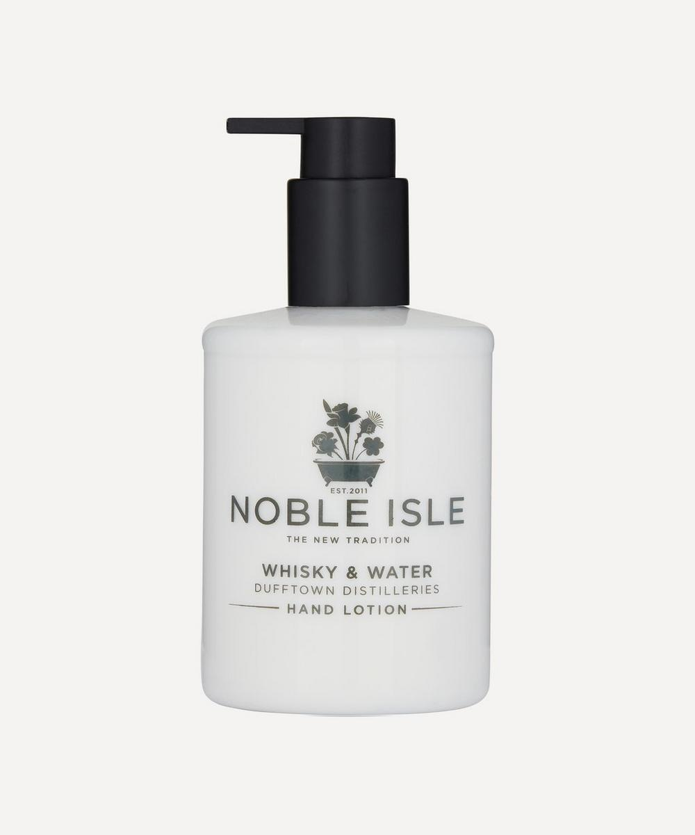 Noble Isle - Whisky and Water Dufftown Distilleries Hand Lotion 250ml