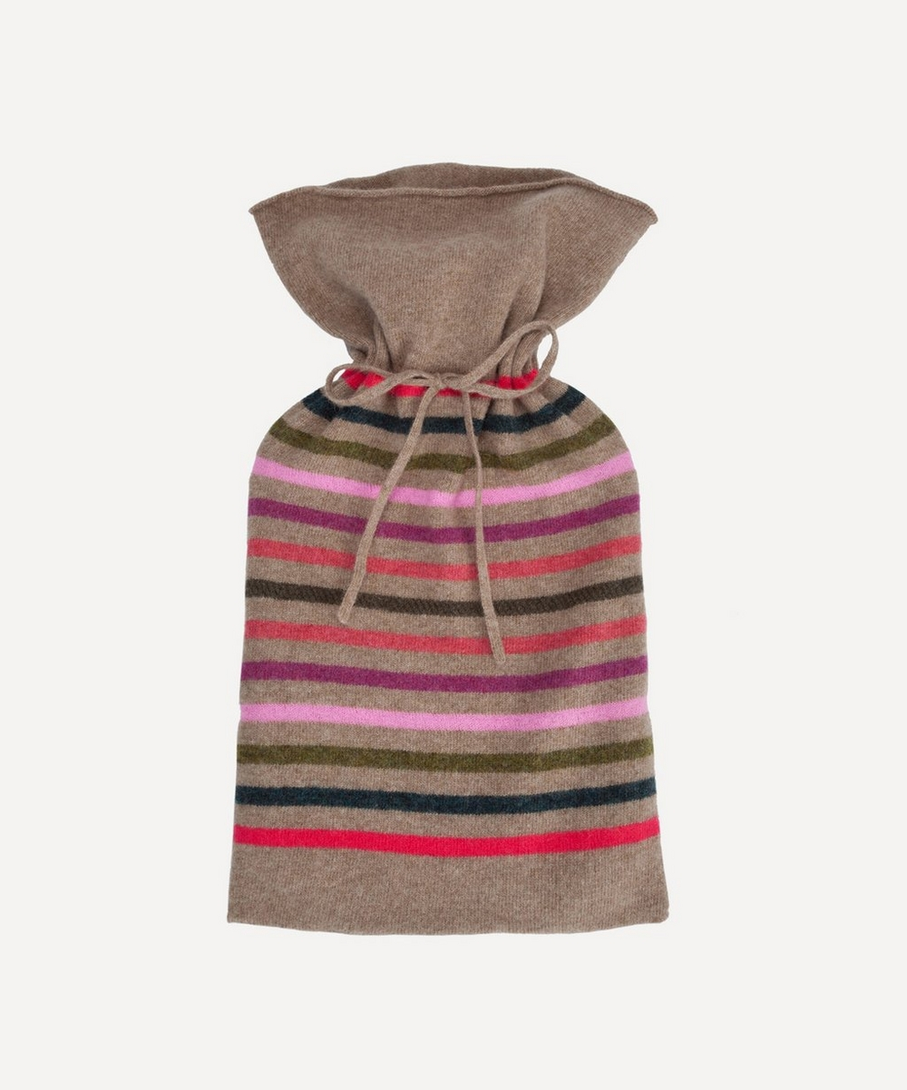 Poppy Stripe Hot Water Bottle