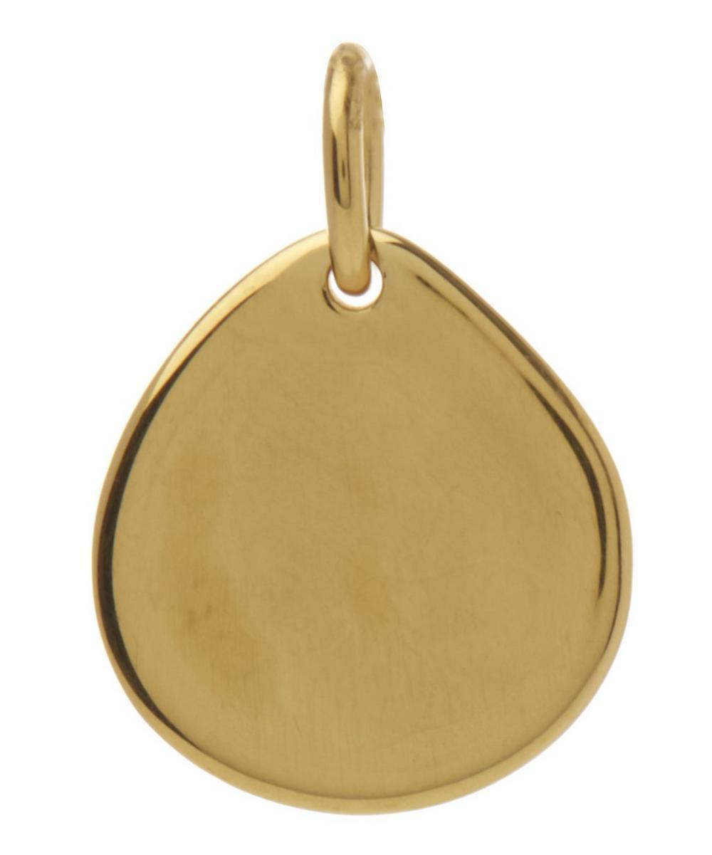 Small Gold Vermeil Siren Pendant