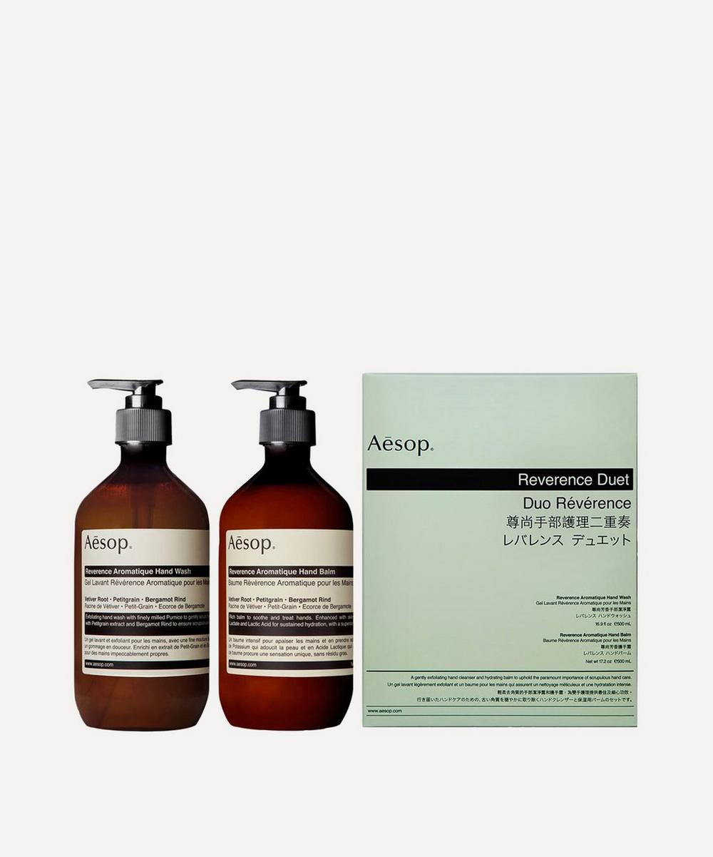 Aesop - Reverence Aromatique Hand Care Duo 2 x 500ml
