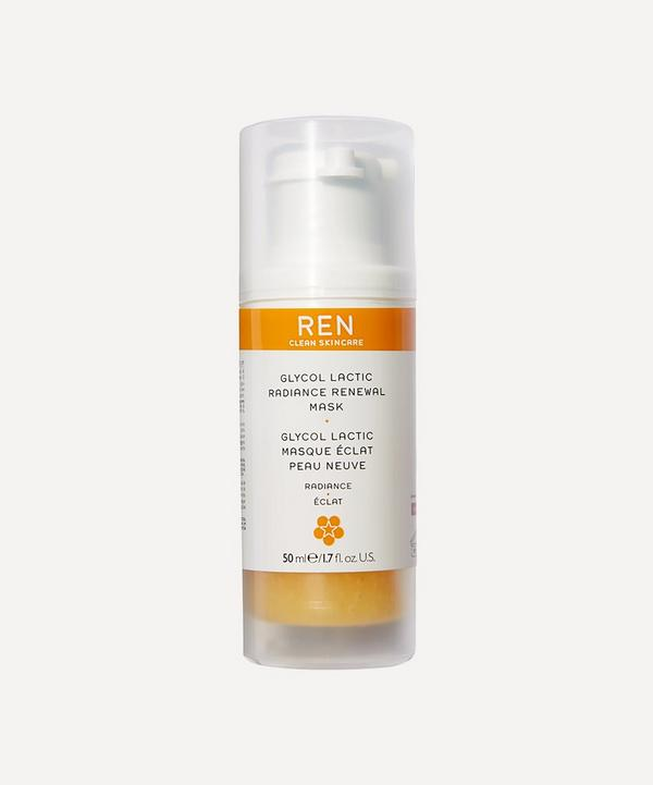 REN Clean Skincare - Glycol Lactic Radiance Renewal Mask 50ml