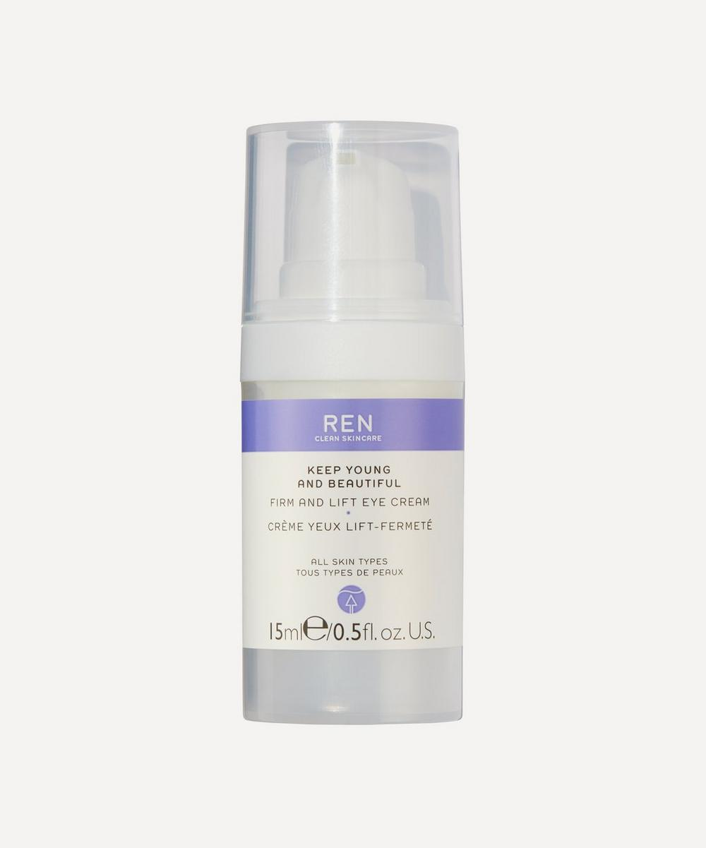 REN Clean Skincare - Keep Young and Beautiful Firm and Lift Eye Cream 15ml