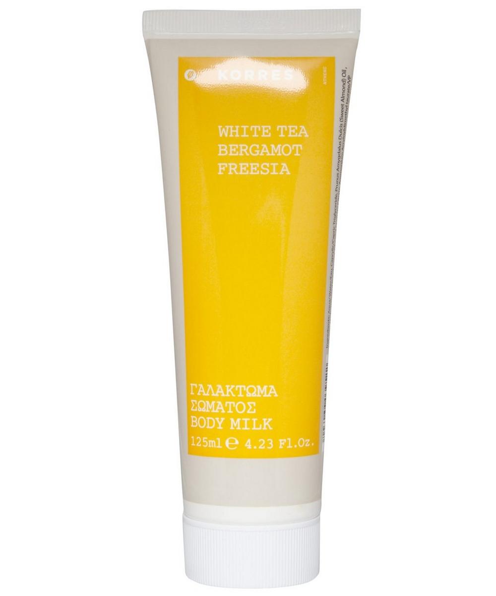 White Tea Bergamot Freesia Body Milk 125ml