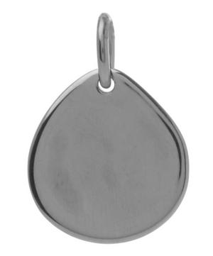 Small Silver Siren Pendant