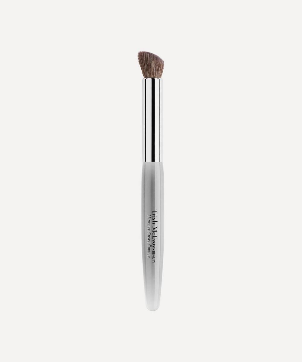 Trish McEvoy - 23 Angled Crease Contour Brush