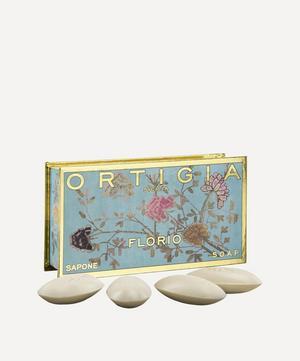 Small Florio Olive Oil Soap Box