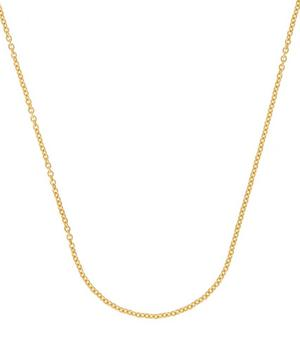 Gold Vermeil Short Rolo Chain