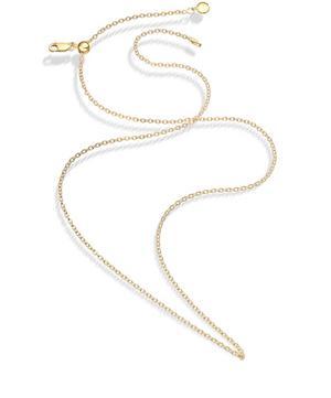 Gold Vermeil Medium Rolo Chain