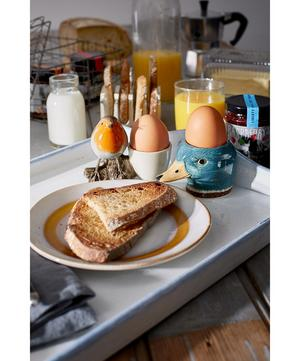 Perched Robin Egg Cup