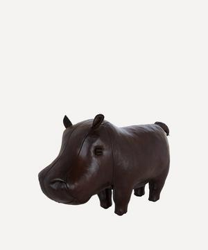 Small Leather Hippopotamus