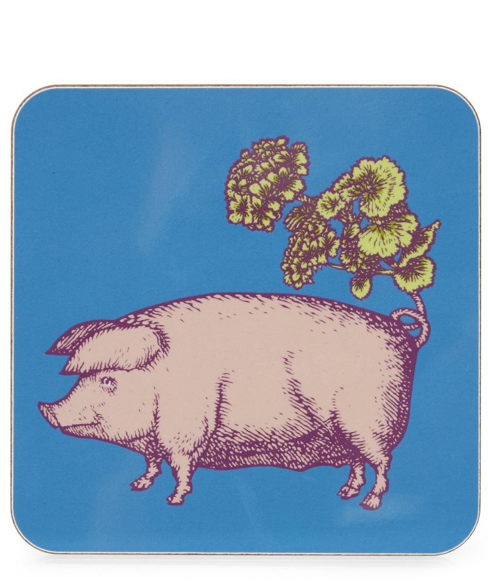 Puddin' Head Pig Coaster