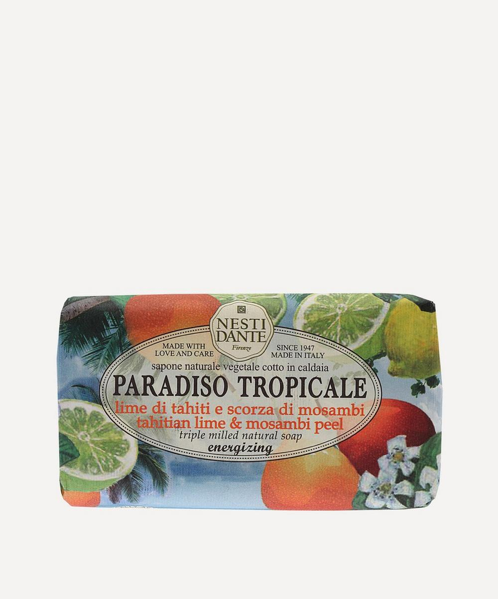 Paradiso Tropicale Tahitian Lime and Mosambi Peel Soap 250g