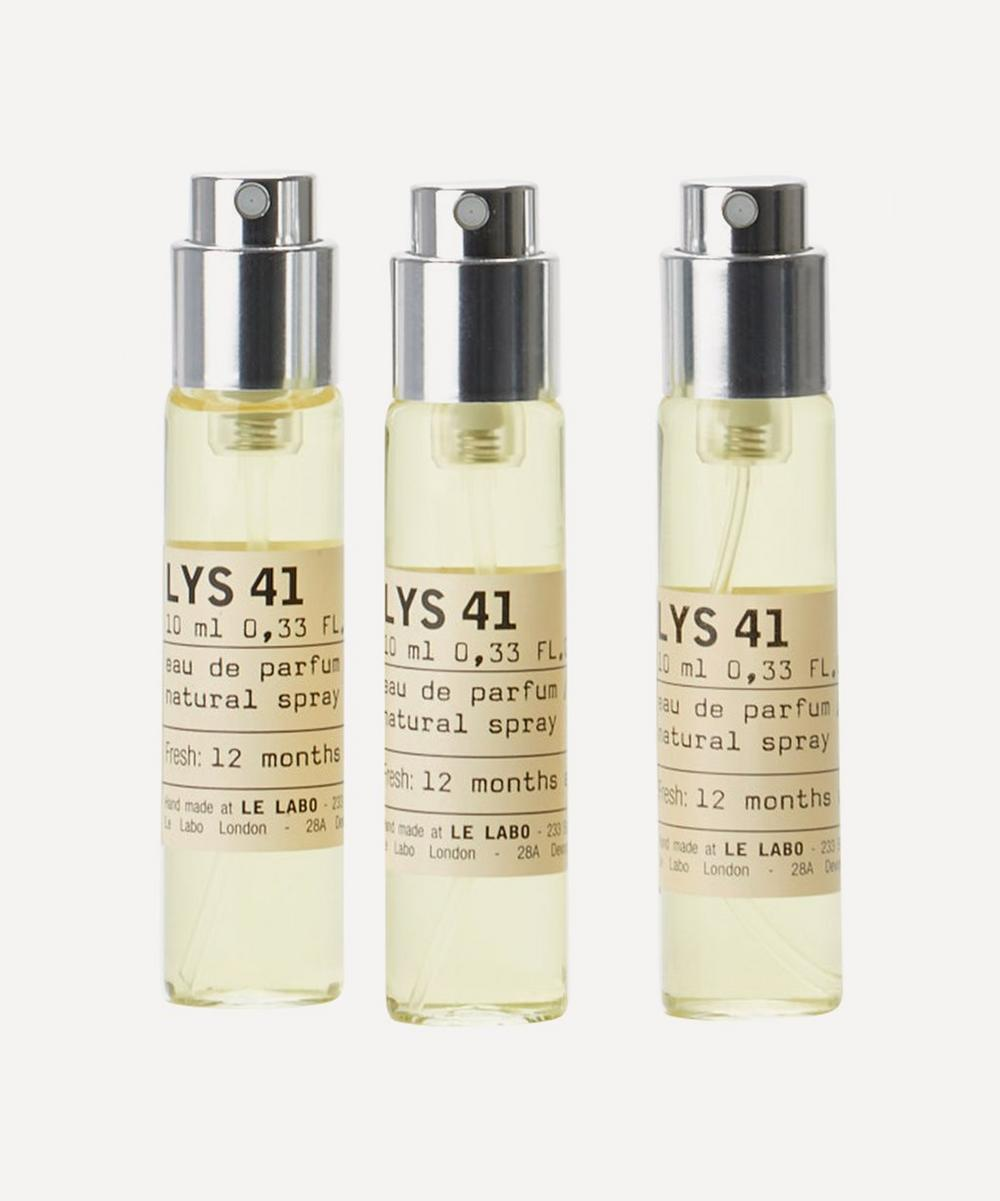 Lys 41 Eau de Parfum Travel Tube Refills 3 x 10ml