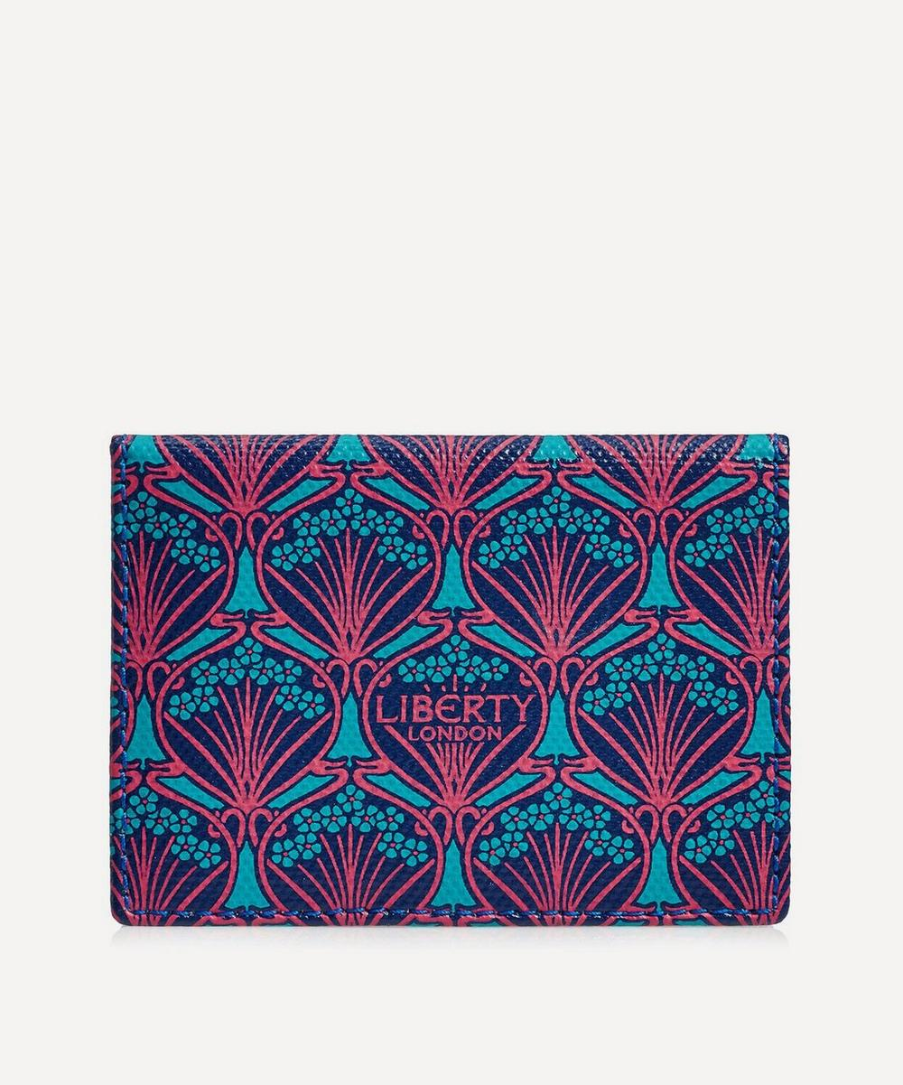 Travel Card Holder In Iphis Canvas, Blue