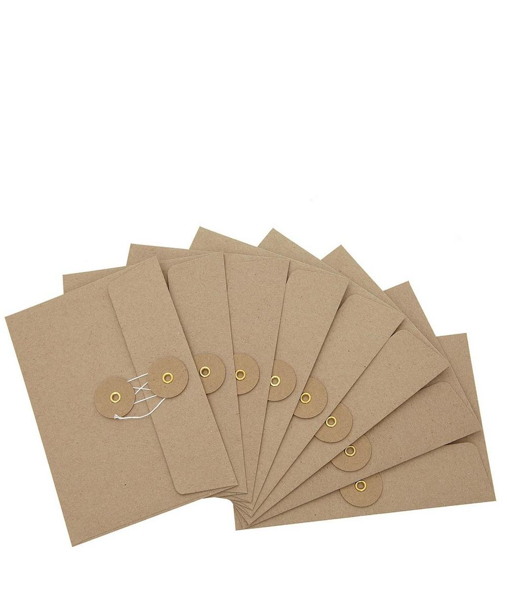 Eight Horizontal Envelopes