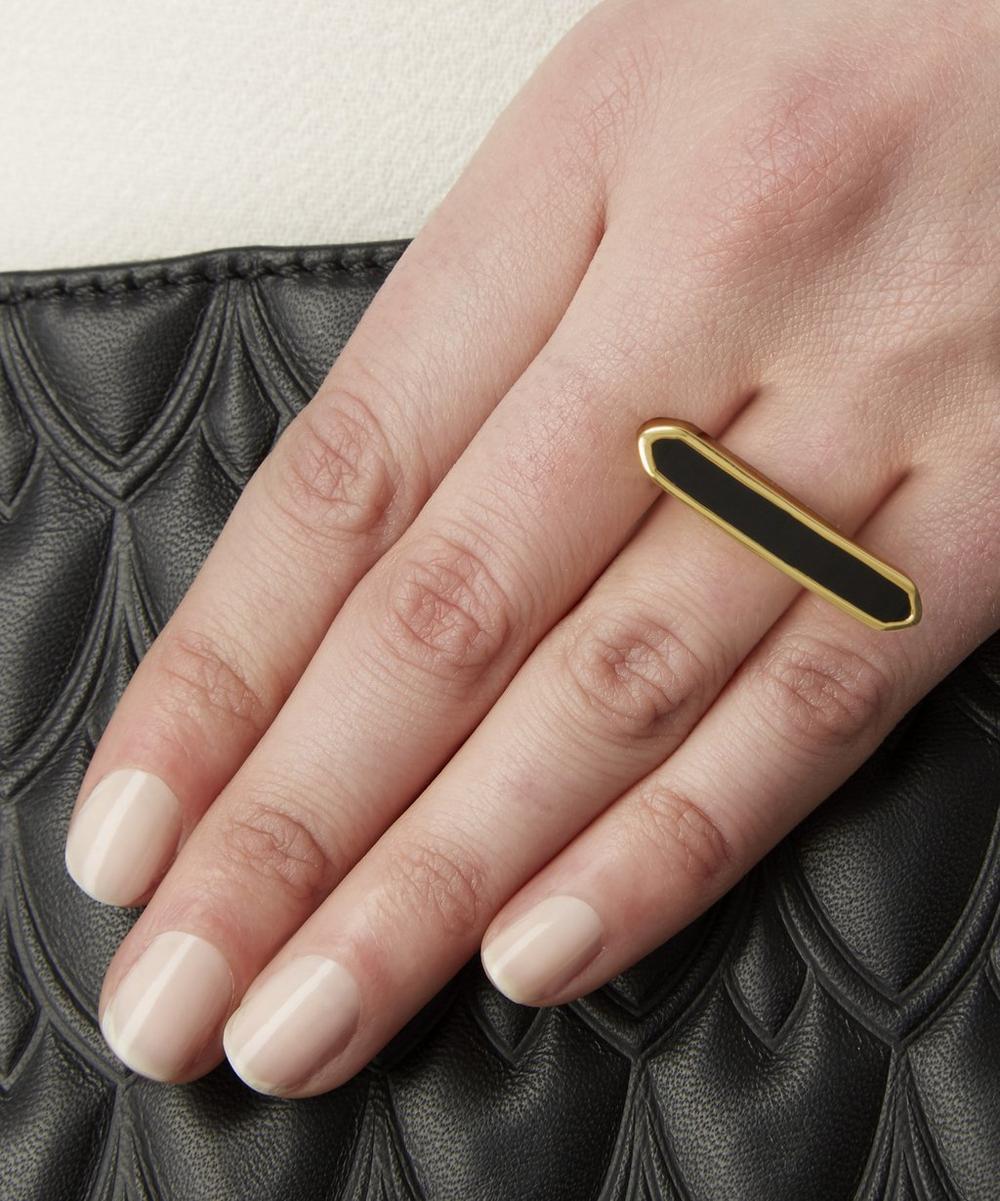 Long Vermeil Baja Ring