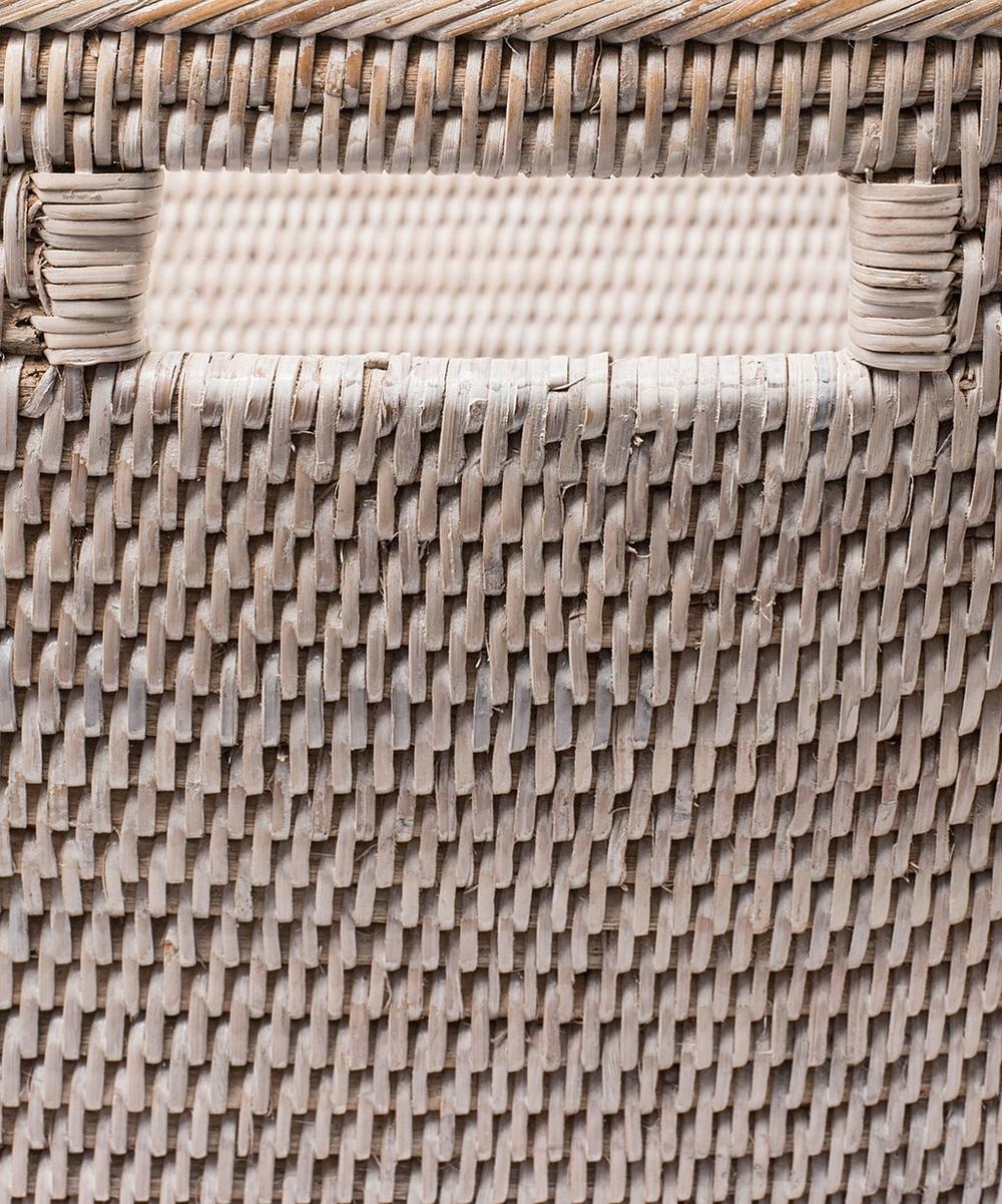 Large Sablon Rattan Basket