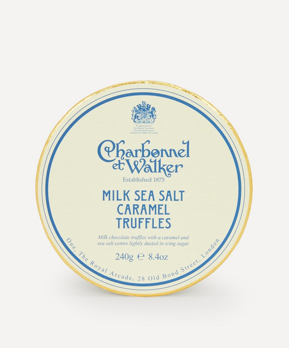 Milk Sea Salt Caramel Truffles 245g | Liberty London