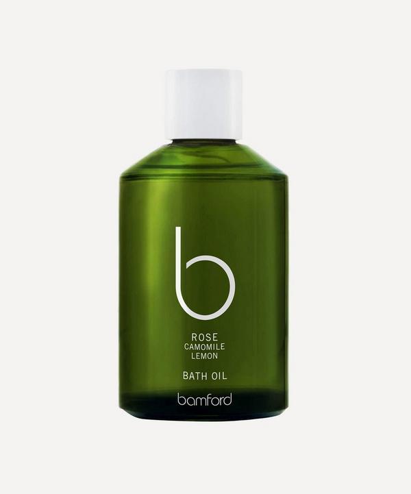 Bamford - Rose Bath Oil 250ml
